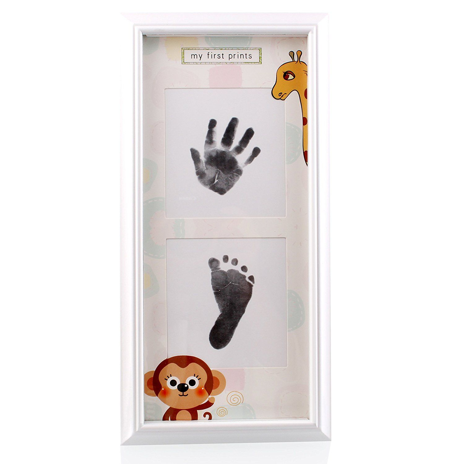 Charming Baby Handprint and Footprint Frame Package-Handprint and ...