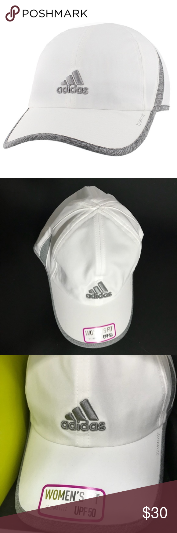 bb9a69af Adidas Women's Climalite SPF 50 hat! NWT! Brand-new white climate Adidas hat