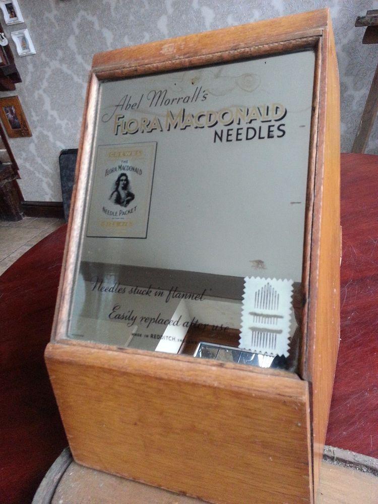 Antique Shop Display Sewing Box