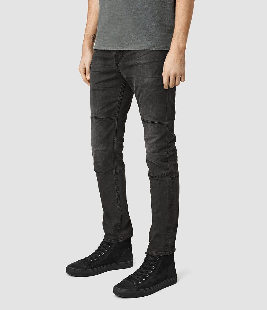 mens black slim fit jeans uk