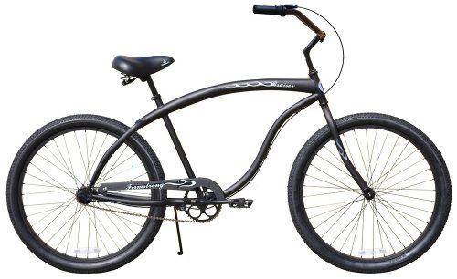 Sale Guy S Cruiser Bike 26 Bruiser Man Multi Speed 3sp Firmstrong Matte Black