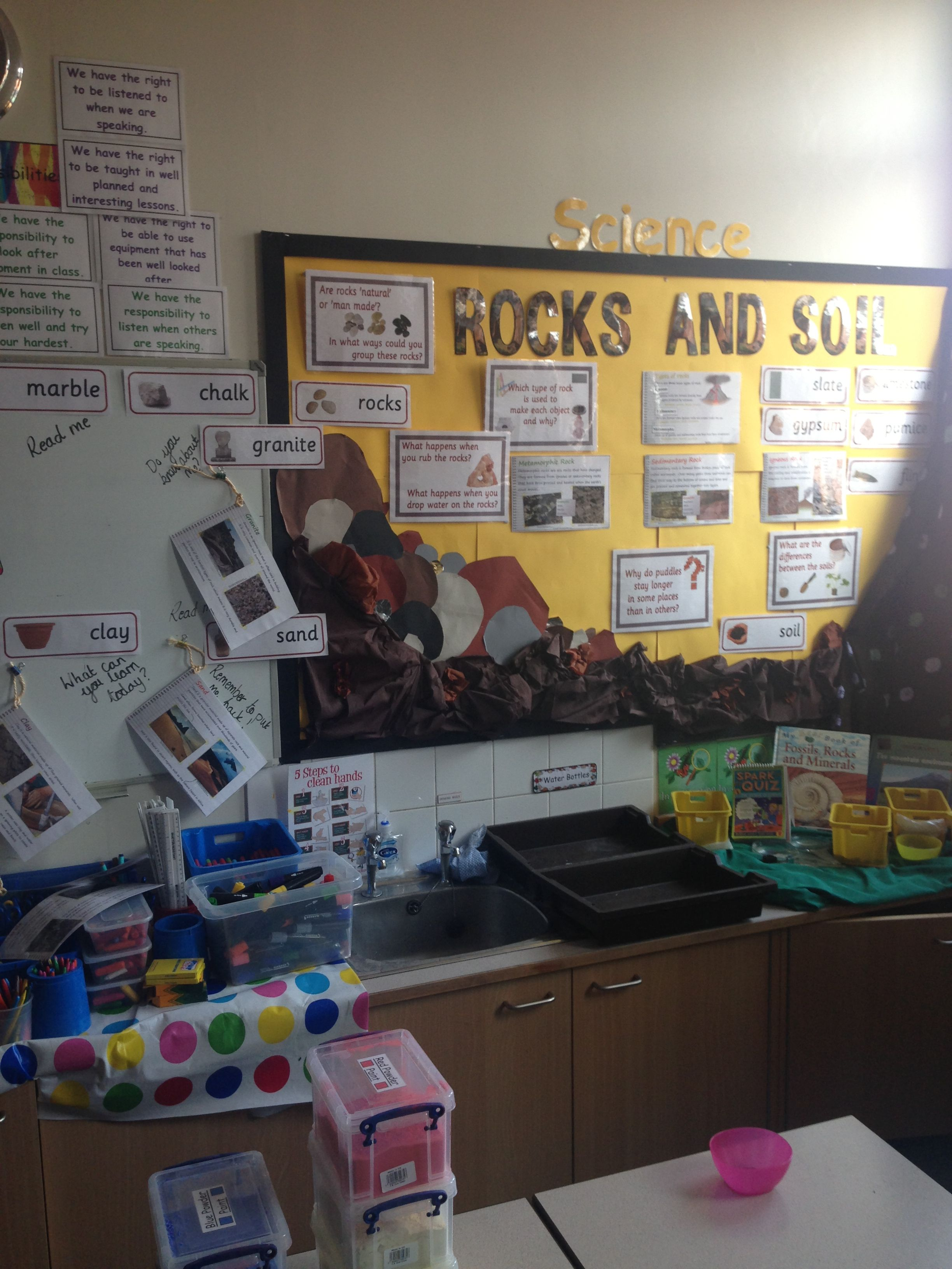 Science Rocks And Soils