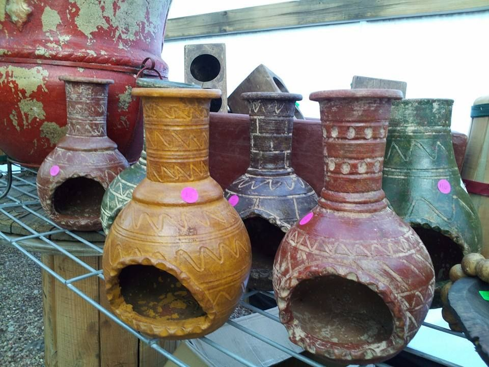 Lovely Delightful Tabletop Chimineas Make Wonderful Luminaries For Your Favorite  Votive Candle. Made By Hand In