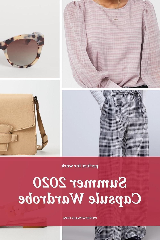 Summer Fashion Internships Nyc Summer Capsule Wardrobe in Beige - Work Catwalk // wardrobe capsule summer