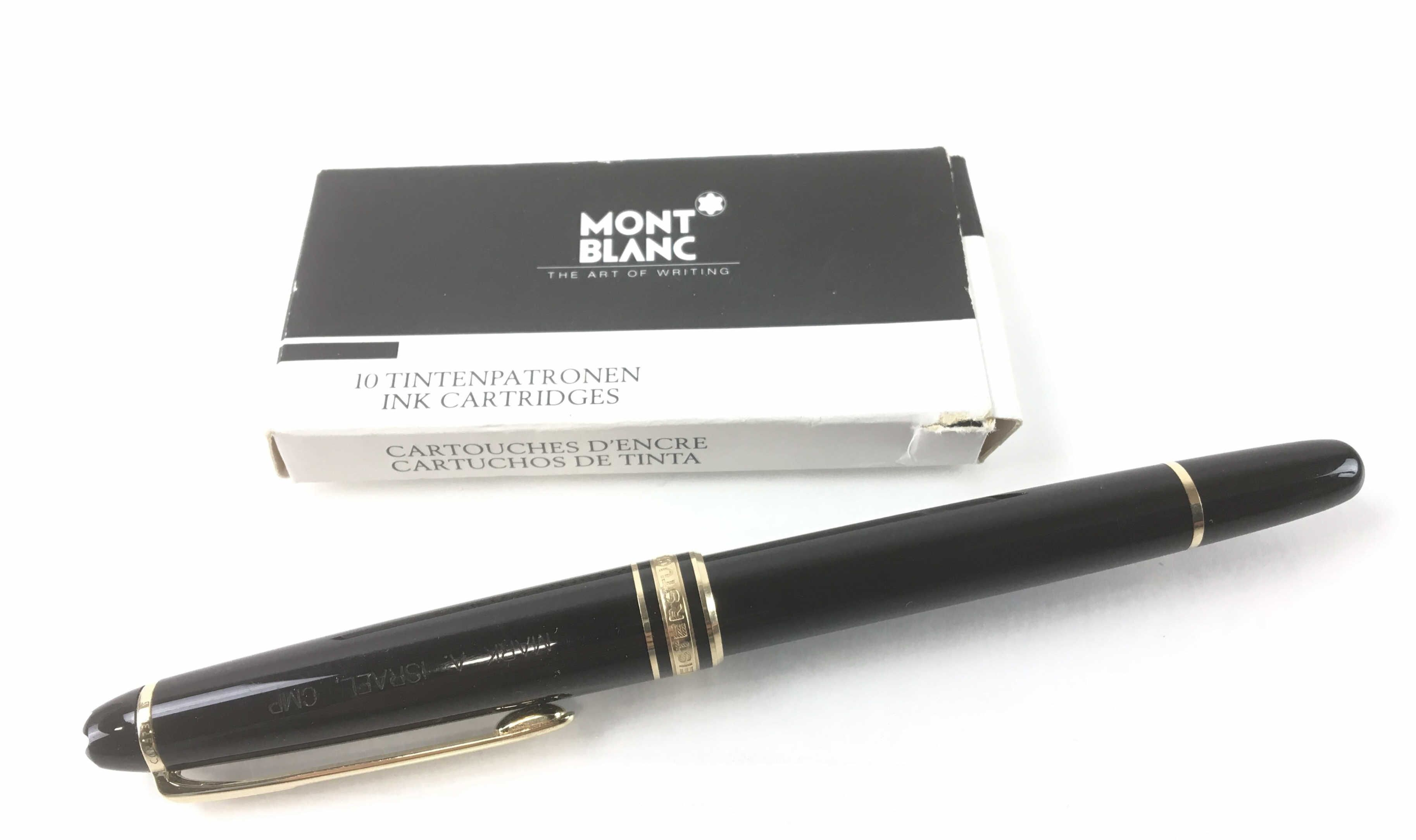 Montblanc Meisterstuck 4810 Fountain Pen Mar 23 2019 Auction Pen Fountain Pen