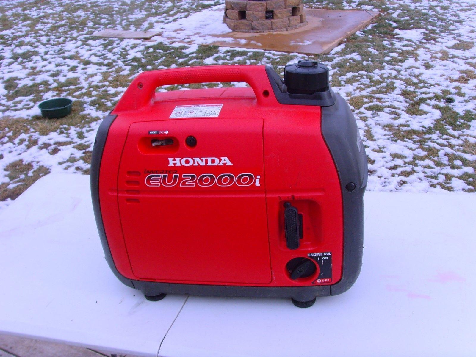 Honda EU2000i 1600 Watt Portable Inverter Generator