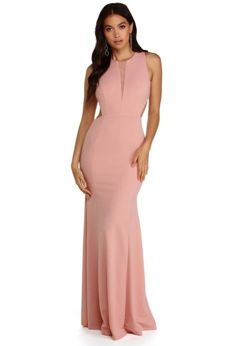 Peach Military Ball Dresses