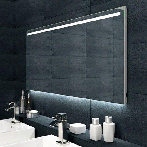Badkamerspiegel Met Verwarming.Badkamerspiegel Ambi 100x60cm Geintegreerde Led Verlichting