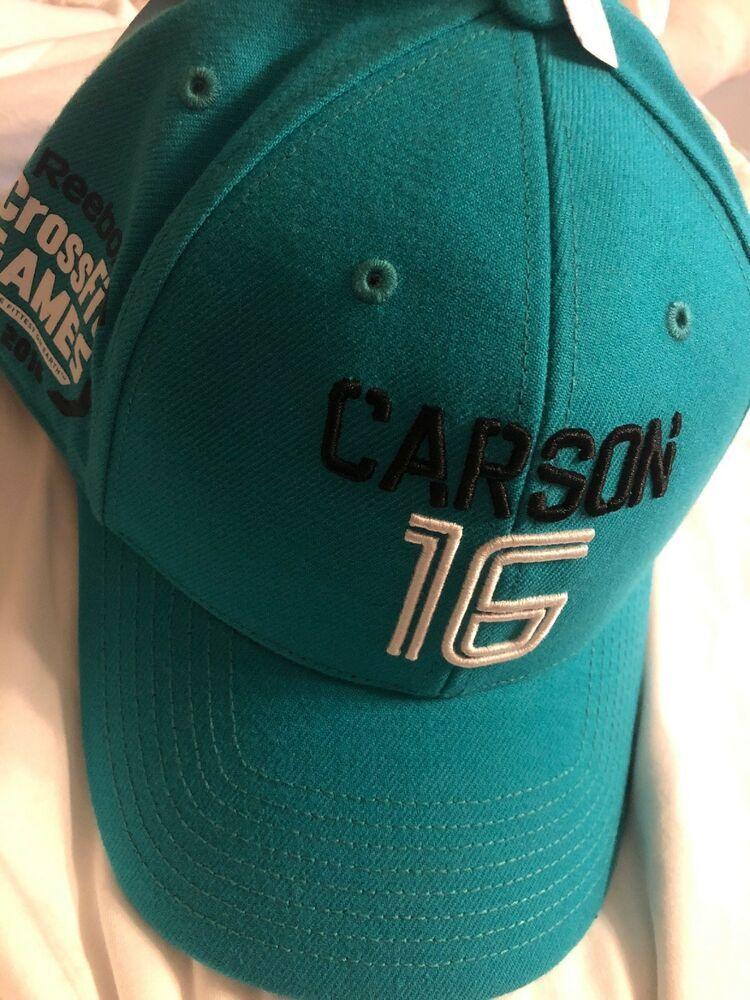 7e347bc7a8f5f0 REEBOK Crossfit Games 2016 Carson 16 Green/Black Snapback Cap NWT | eBay