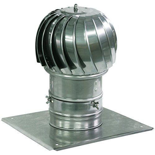 Spinning Chimney Cowl Aluminum Flue Ventilation With Extr Chimney Cowls Roof Cap Roof