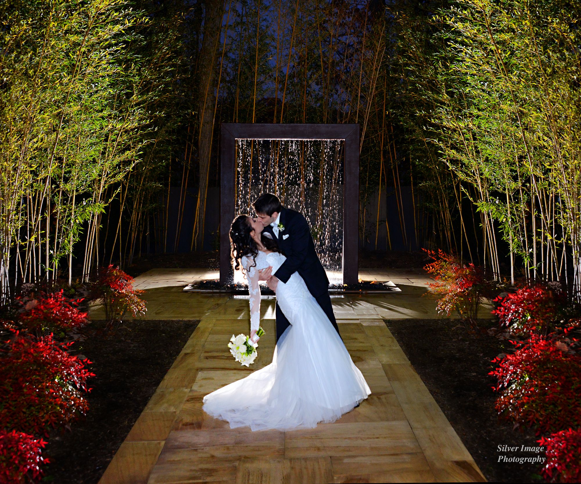 Bamboo Garden At The End Of Fall Auletto Caterers South Jersey Wedding Venue