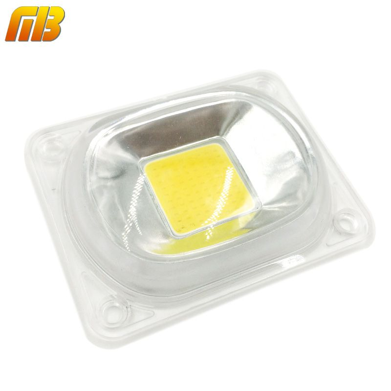 Led Cob שבב Led עדשת רפלקטור מנורת 230 V 110 V 20 W 30 W 50 W לאור המבול הוביל Diy צריך קירור עבור קירור Light Accessories Diy Lighting Flood Lights