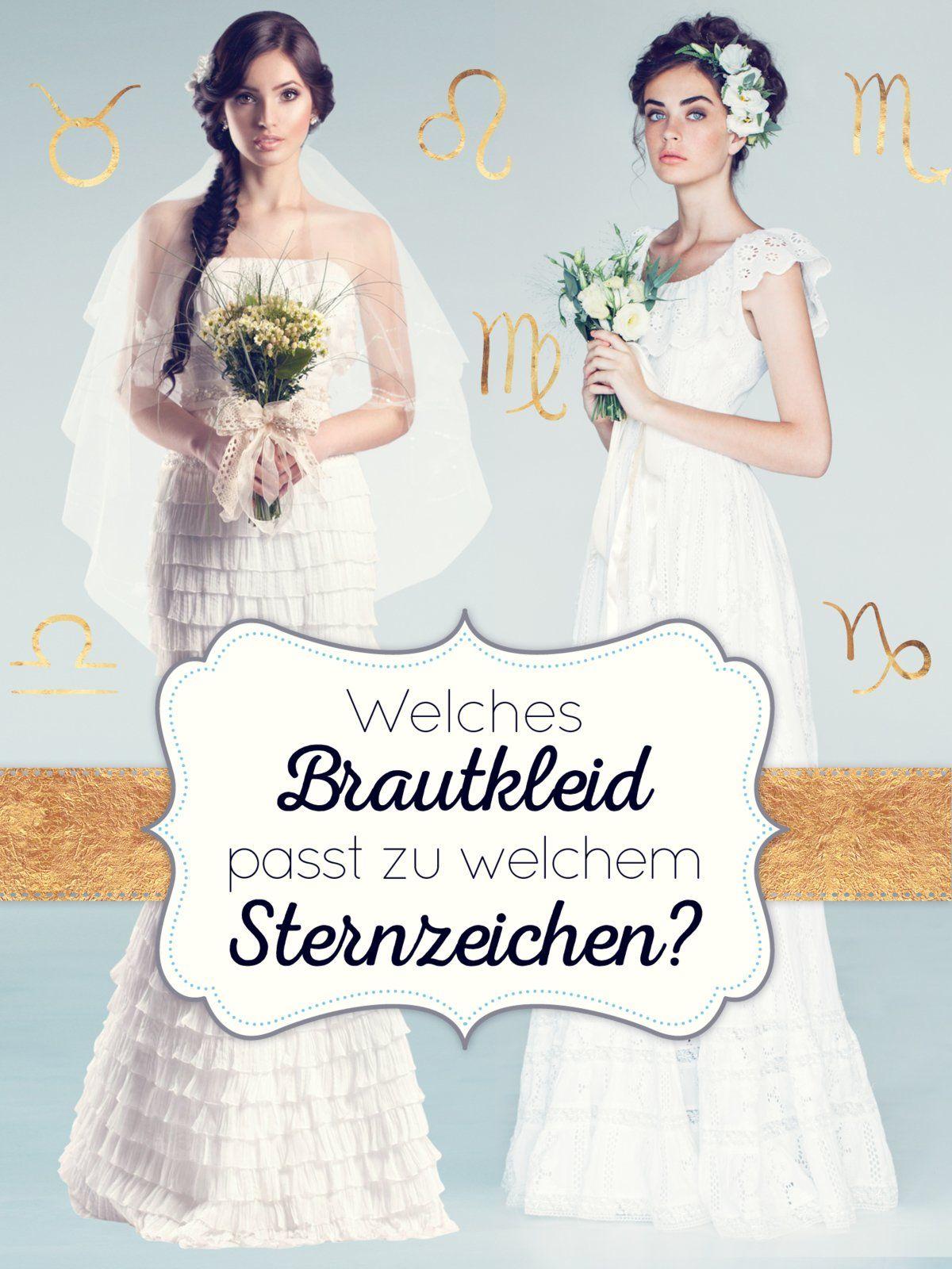 Welches Brautkleid passt zu welchem Sternzeichen? | Tarot