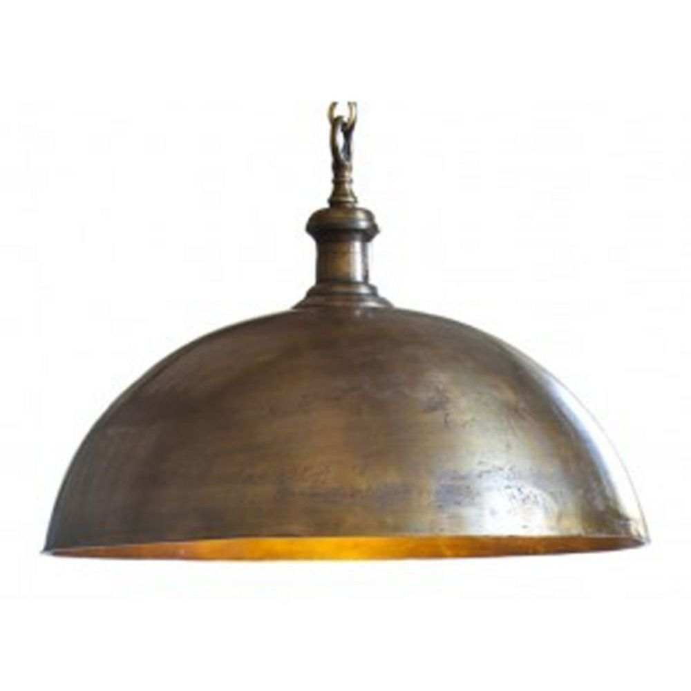 Antique Brass Medium Pendant Antique Brass Dome Pendant Kit Destination Lighting Pendant Light Fixtures Brass Pendant Light Golden Lighting