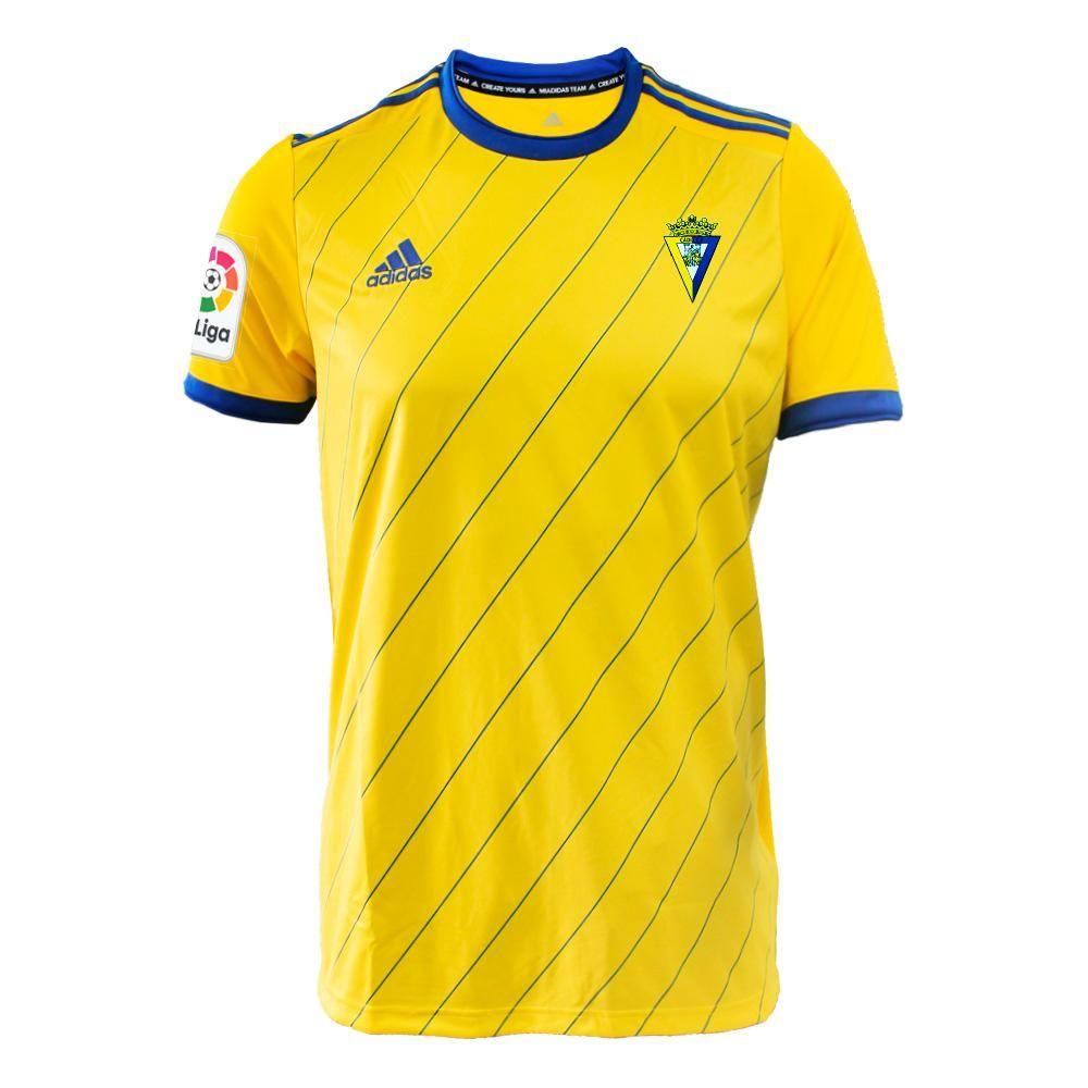 CÁDIZ CF FÚTBOL Home Yellow CALCIO ADIDAS SOCCER CLUB KIT 2018 ...
