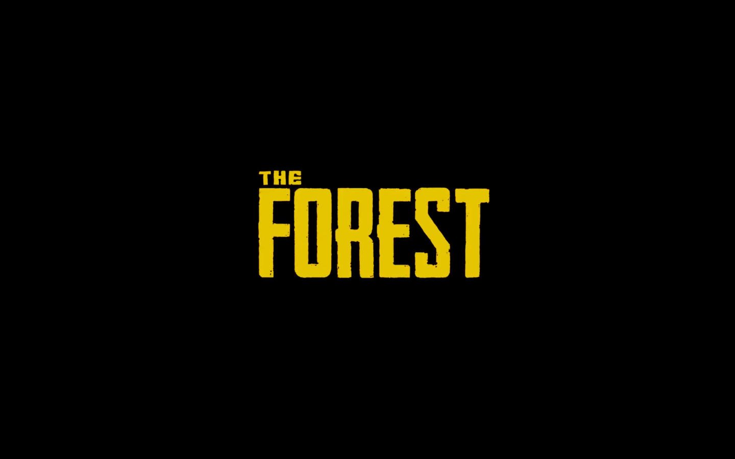 The Forest Logo From The Open World Survival Horror Game By Endnight Games Realite Virtuelle Realite Augmentee Jeux Video