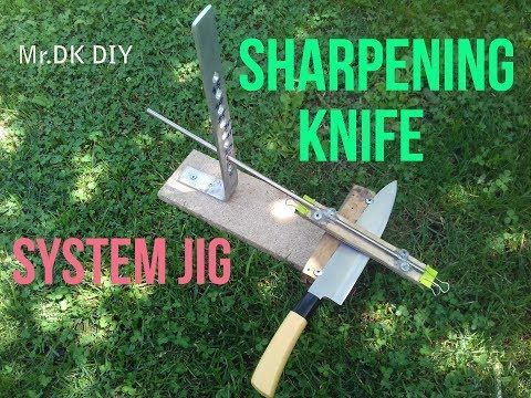 63 How To Make Diy Knife Sharpening System Jig Homemade