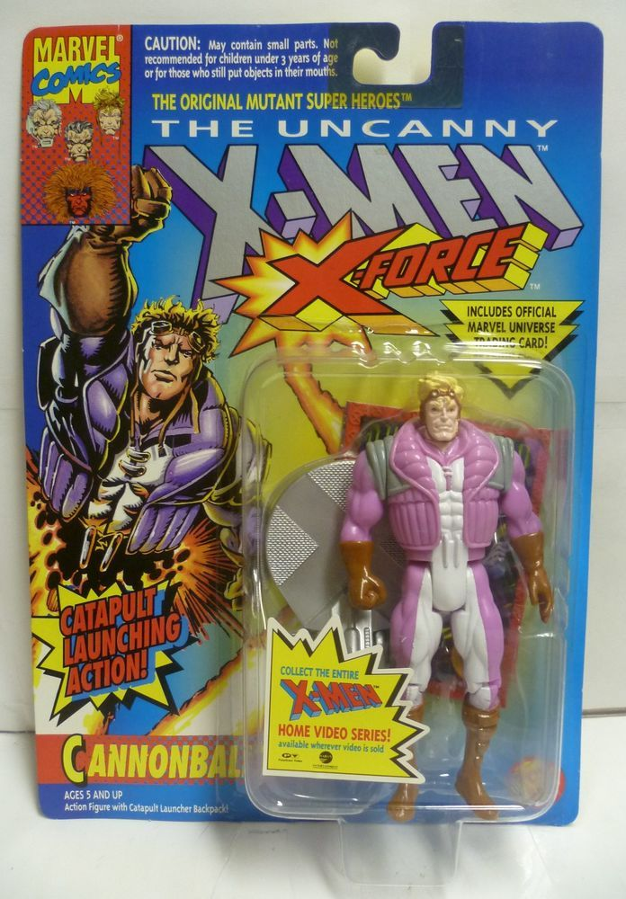 Marvel X-Men X-Force Evil Mutant PYRO Action Figure Toy Biz 1994 Used