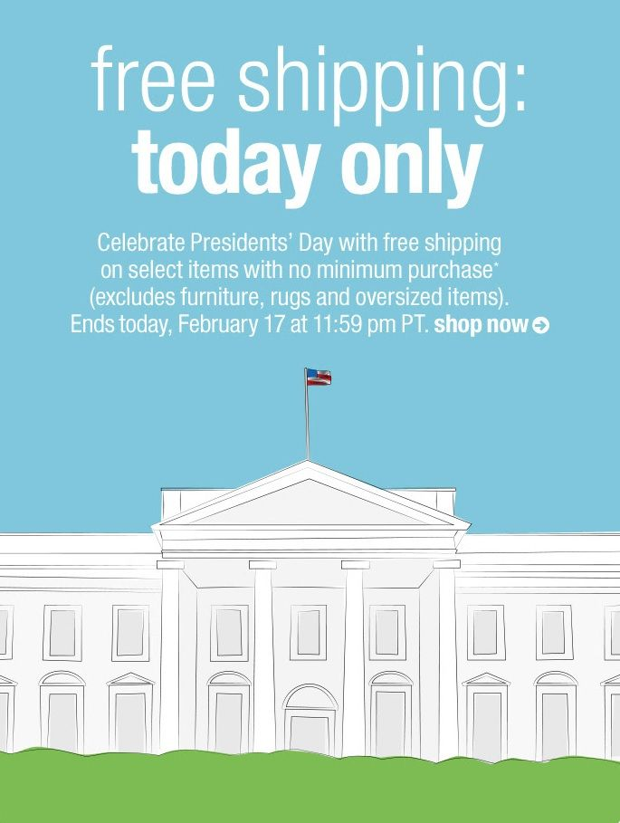 Cb2 Free Shipping >> Cb2 Free Shipping With Presidents Day White House Creative