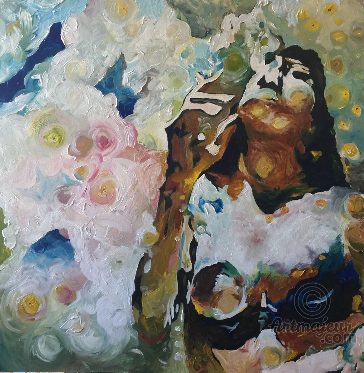 Vixen Painting by Lana | Artmajeur