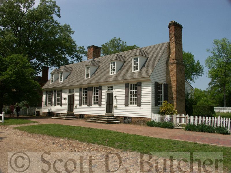 John Blair House Williamsburg Virginia Blair House Colonial Williamsburg House Styles