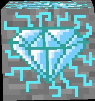 Corrupted Diamond Ore Nova Skin Gallery Minecraft Skins Horse Armor