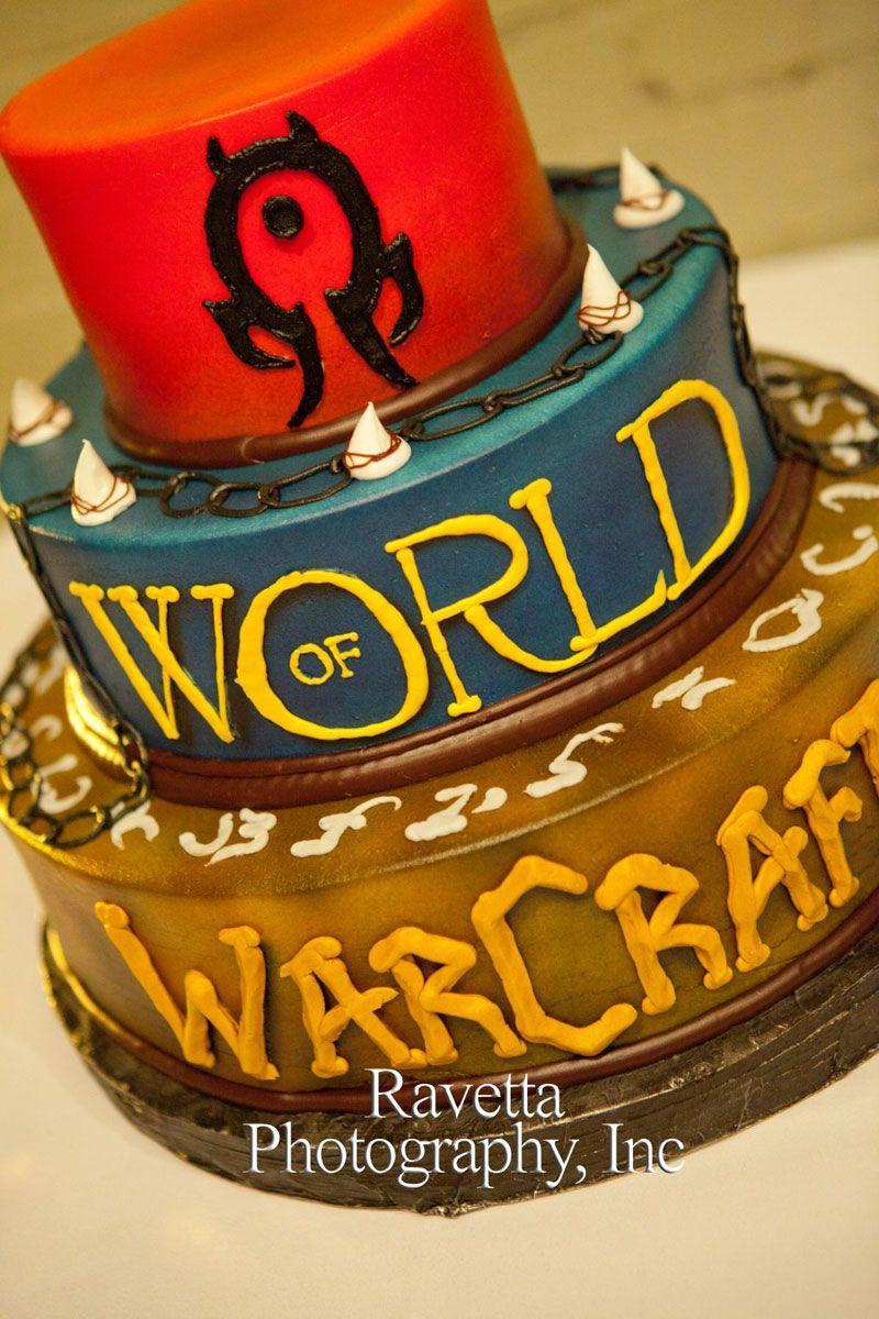 World of Warcraft Cake | games | Themed cakes, Cake, Birthday cake