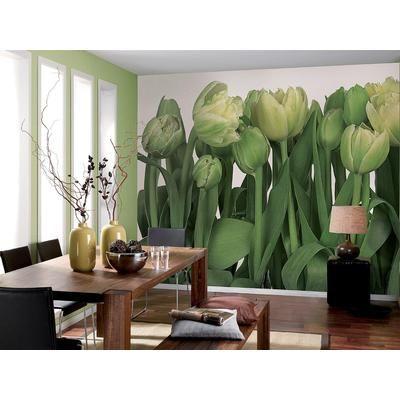 Komar tulips wall mural 8 900 home depot canada 129