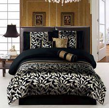 New Royal Velvet Crestmore Comforter Set Queen 340 Cotton Light