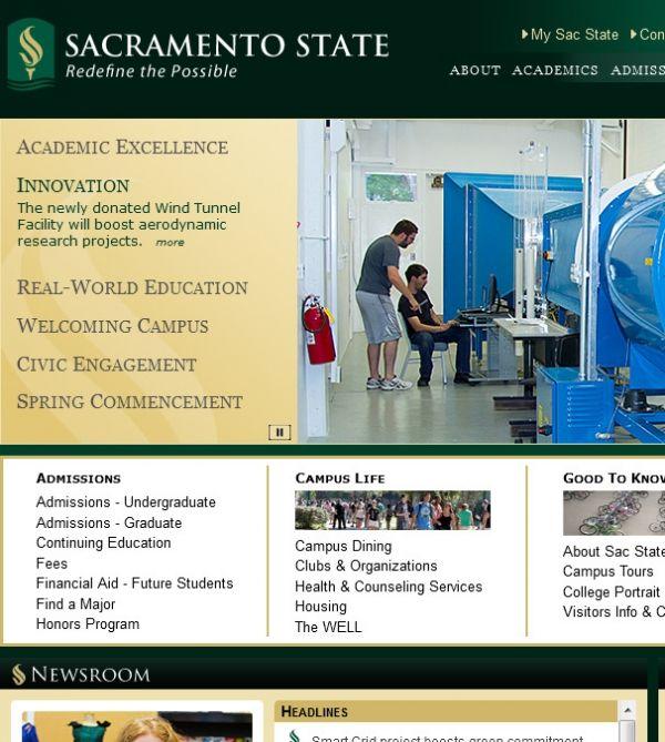 California State University Sacramento 6000 J St Sacramento CA 95819 East Sacramento, Sacramento State Colleges & Universities