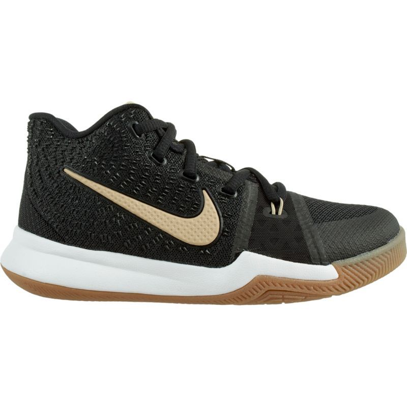 Nike Kids' Preschool Kyrie 3 Basketball Shoes, Size: 11K, Black