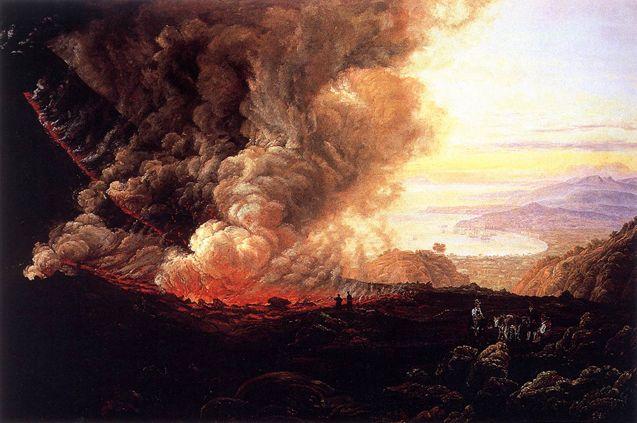 Eruption of Vesuvius: 1823