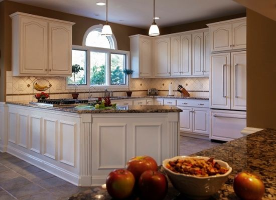 Is The Cathedral Cabinet Look Popular Refacing Kitchen Cabinets