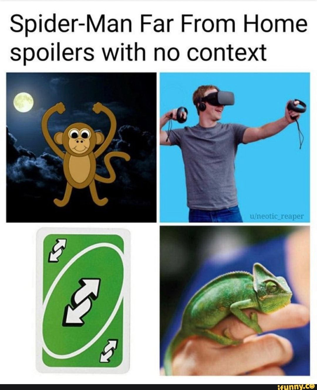 Spider Man Far From Home Spoilers With No Context Ifunny Marvel Funny Spiderman Marvel Memes