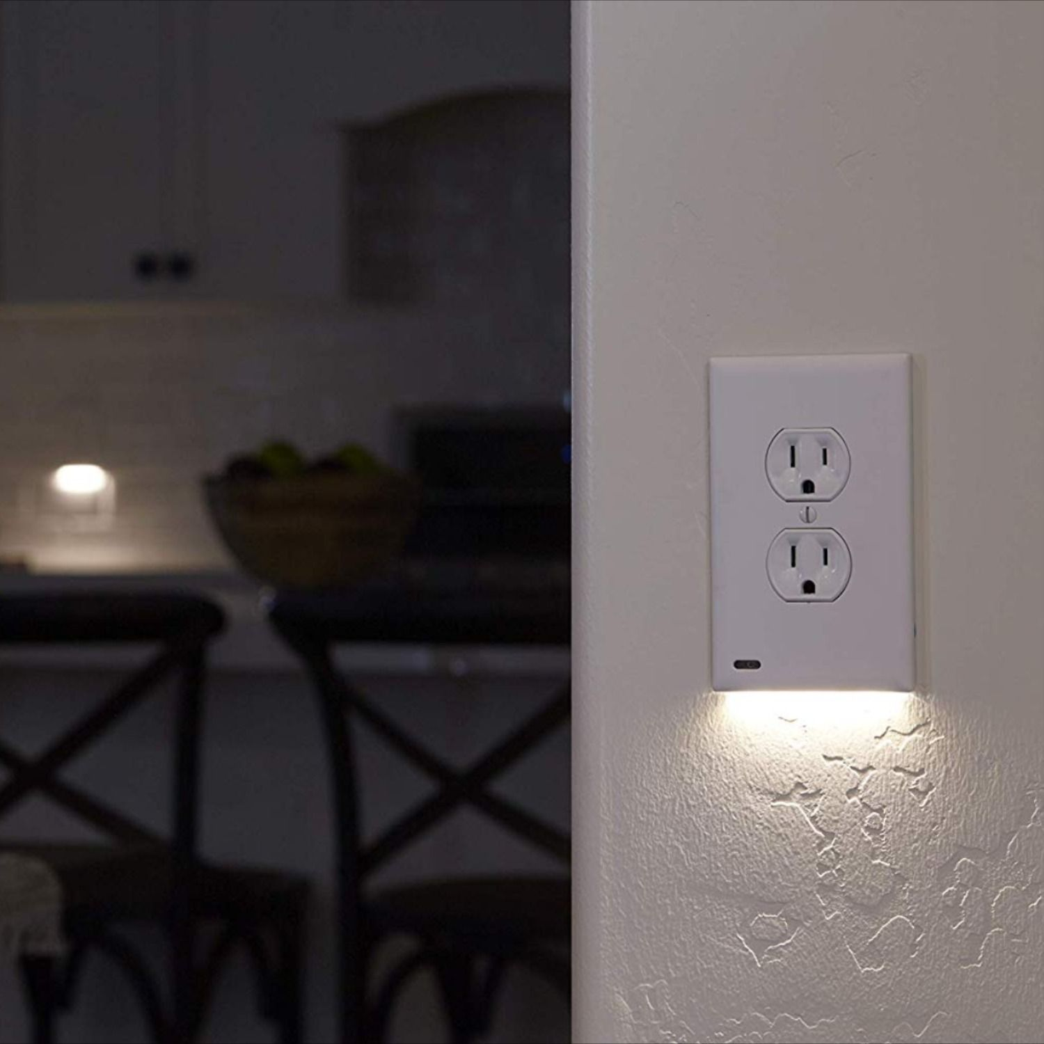Led Night Light Wall Plate Cover Plates On Wall Led Night Light