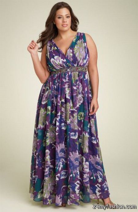 Cool Maxi Dresses For Plus Size Women 2018 2019 Check More At Http
