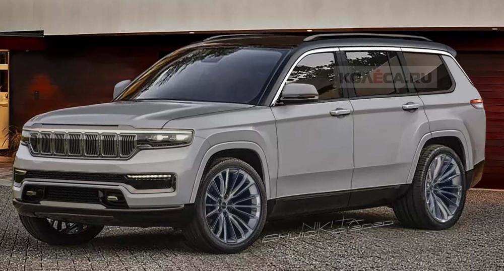 جيب غراند شيروكي 2022 الجديدة تماما سيارة الدفع الرباعي الأيقونية بالجيل الجديد قريبا موقع ويلز Jeep Grand Jeep Grand Cherokee Jeep