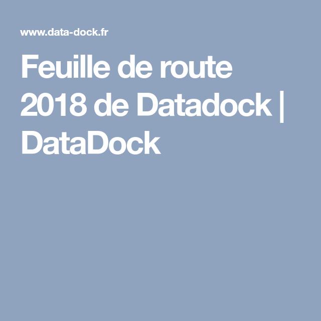Feuille de route 2018 de Datadock | DataDock