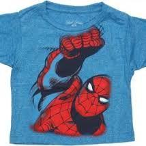 Image result for SPIDER-MAN KIDS T-SHIRTS