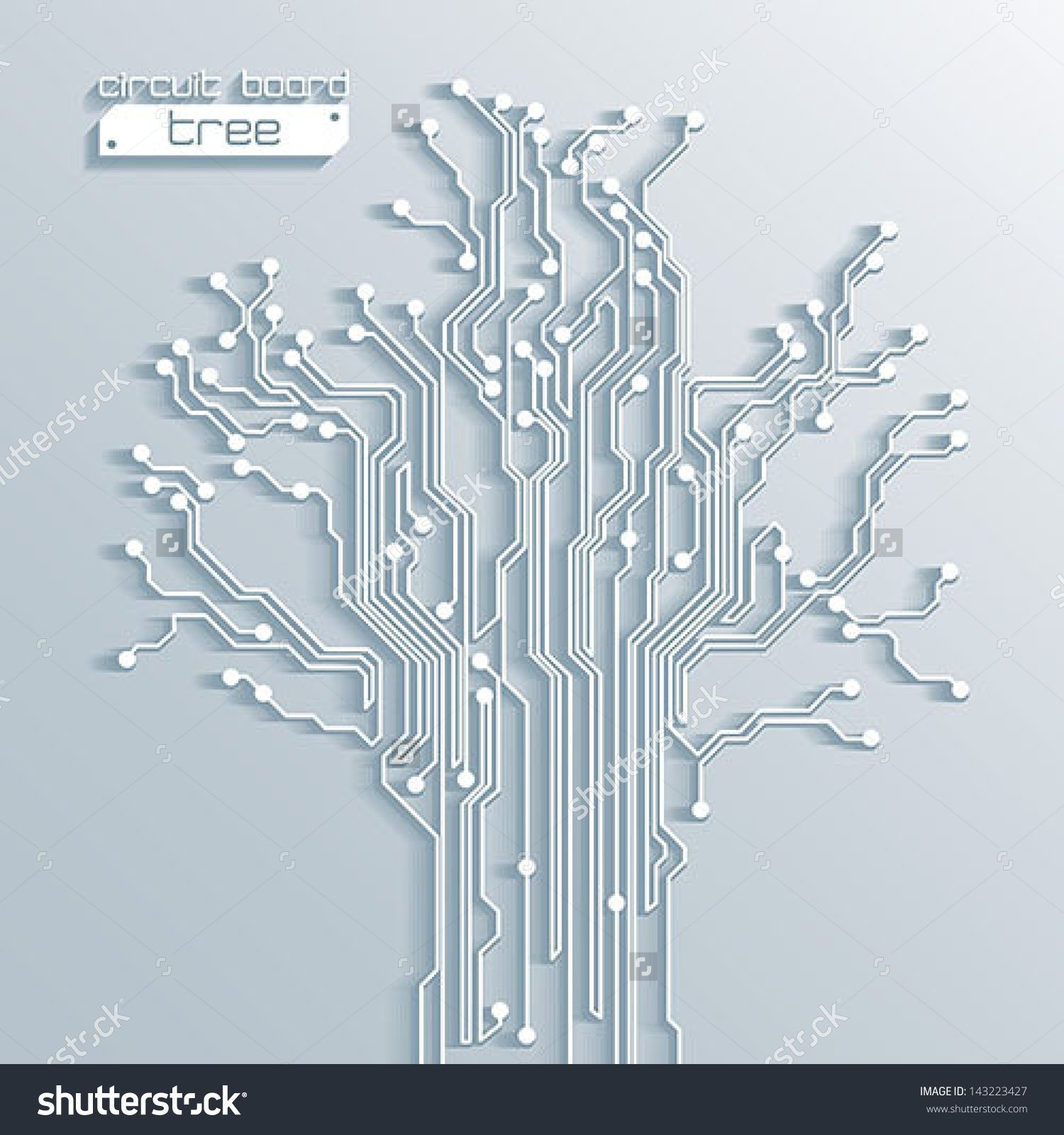 3d Tree Circuit Board Background Vector Creativecoding In 2019 Memory Chips A Cell Phone Royalty Free Stock Photo Image