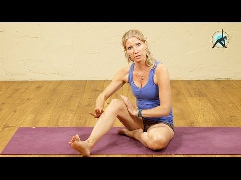a number of yoga videos which will help you to avoid knee