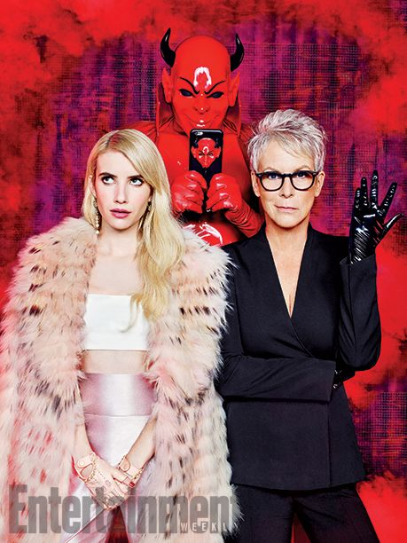 'Scream Queens' inside look: 14 EW exclusive photos | Is the Red Devil on Twitter? | EW.com