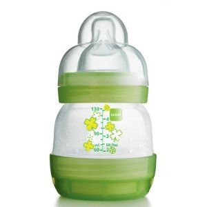ASSORTED COLOUR New Baby Born Bottle with Cap