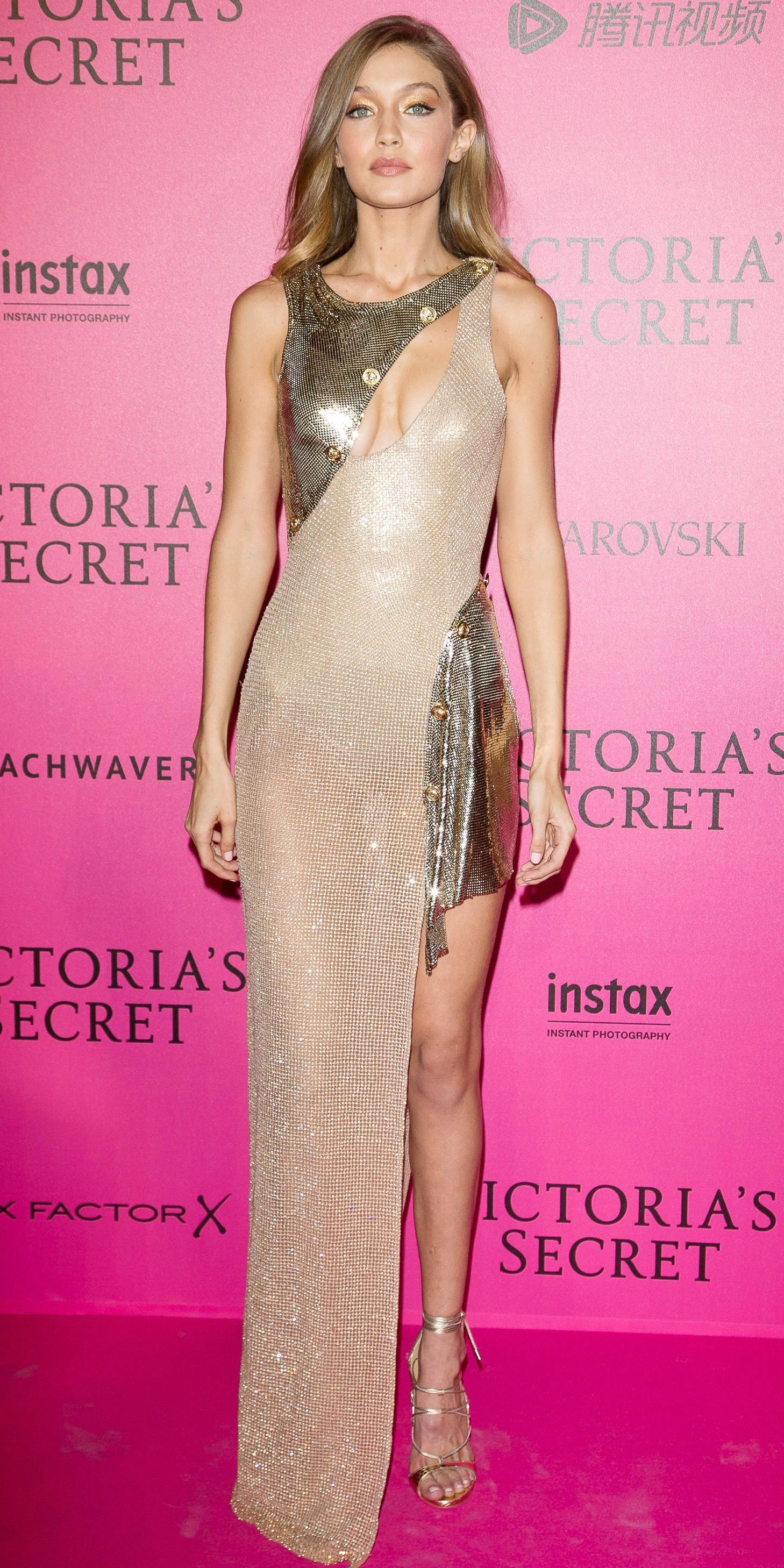 6c97dc1bcd 15 Jaw-Dropping Looks from the Victoria s Secret Fashion Show After-Party - Gigi  Hadid from InStyle.com