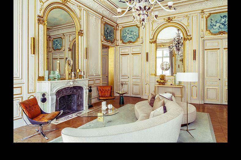 Des Ors Et Du Design A Paris French Interiors Parisian