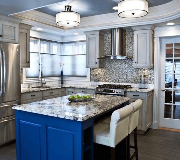 6 Kitchen Lighting Ideas Meethue: Flush Mount Fluorescent Kitchen Lighting Design Ideas