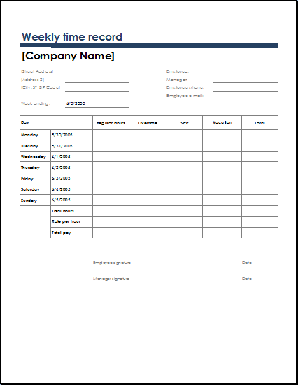 Employee Task List Template  Business    Template And