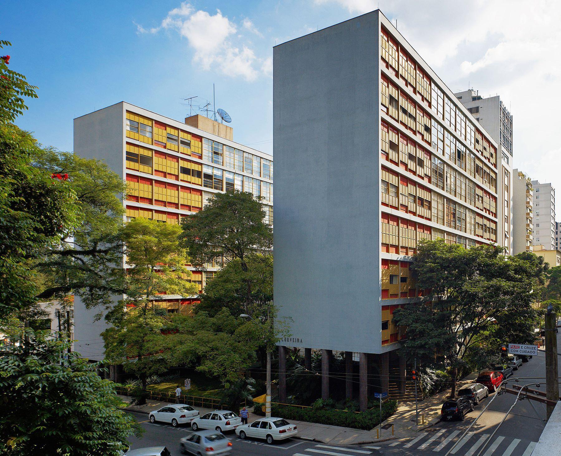 Condomínio Edifício Louveira, São Paulo de Piratininga - SP, Brasil - João Batista Vilanova Artigas e Carlos Cascaldi