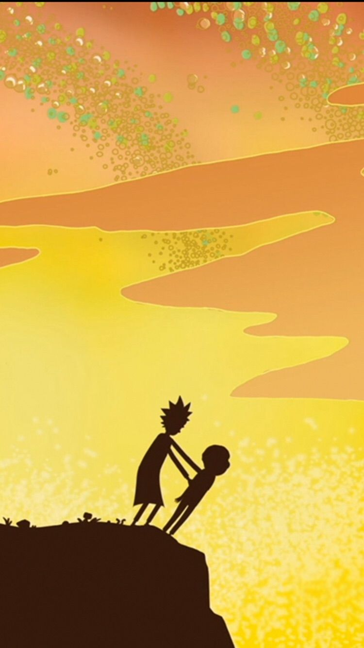 A Few Rick And Morty Stills Cropped For The Iphone 6 1334x750
