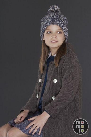 momolo.com red social de #modainfantil #kids #kidswear #streetstyle #streetstylekids #niños #bebé #coolkids #moda #fashion #tendencias #trends MOMOLO   moda infantil    Gorros Bonnet à pompon, Abrigos Bonnet à pompon, niña, 20150826115524